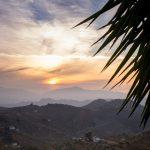 Mountain sun set, Finca Las Nuevas, Andalucia