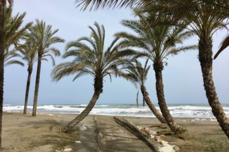 Marbella beach, Andalucia
