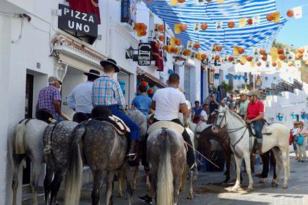 Feria Mijas Pueblo, Andalucia