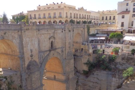 Ronda bridge, Andalucia