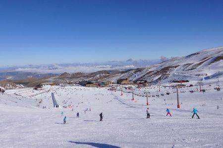 Skiing Sierra Nevada, Andalucia