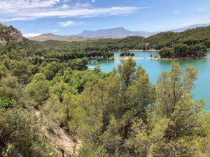 Finca Las Nuevas Terrace view lakes